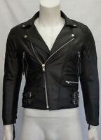 Biker Classic Diamond Motorcycle Distressed Brown Vintage Leather Jacket