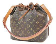 Authentic LOUIS VUITTON Petit Noe Monogram Shoulder Tote Bag Purse #36844