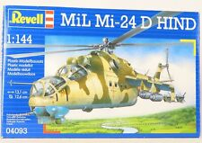 Revell Mil Mi-24 D Hind Helicopter Plastic Kit Original Box Instructions