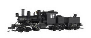 Bachmann 82901 HO Spectrum Black 70-Ton 3-Truck Climax Steam Locomotive w/DCC LN
