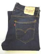 LEVI'S 503 JEANS MEN'S LOOSE STRAIGHT LEG W32 L30 DARK BLUE STRAUSS LEVJ174 #