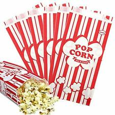100pcs Paper Take Out Containers Popcorn Bags, 1oz