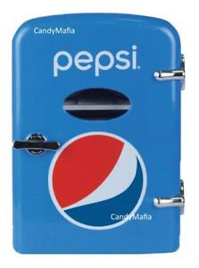 Pepsi 6 Can Cooler / Mini Fridge - Pepsi Mini Refrigerator NEW IN BOX!