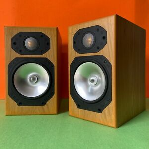 Monitor Audio Silver S1 Bookshelf Speakers - Tested, working - Great Sound.
