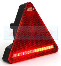 A W68P 12 V 24 V Universel DEL Triangle Arrière Combinaison Lampe REMORQUE R/H
