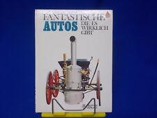Fantastische Autos Die es wirklich gibt Delphin Verlag 1974 Nicolas de Vere