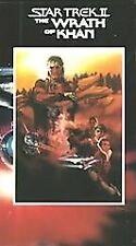 Star Trek II: The Wrath of Khan VHS 1982 William Shatner Leonard Nimoy Ricardo