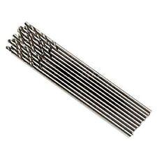 8 Pack Of Micro Drill Bits 2mm Long Series HSS Drills Metal Long Shank