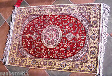 100% Hand Knotted Persian Kashan Silk Rug, From the Looms in Iran, Soft, Strong