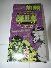 Incredible Hulk Comic Images Box of Cards