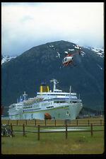 553031 elicotteri e navi da crociera a skagway ALASKA A4 FOTO STAMPA