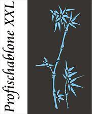 Stupfschablone, Wandschablone, Malerschablone, Schablone, Wanddekor, Bambus XXL