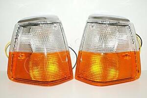 DEPO Amber Corner Lights Pair For VOLVO 240 Kombi 76-93 1312757