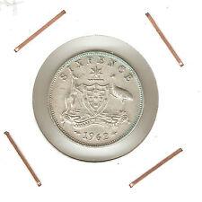 Australia: 6 Pence 1962 VF