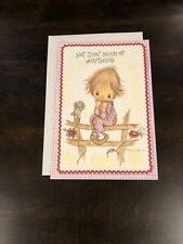Vtg Hallmark Betsey Clark Thinking of You Greeting Card 1970s