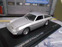 LAMBORGHINI 4000 GT 4000GT  Flying Star II 1966 silber NEW IXO White Box 1:43
