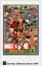 1994 Select AFL Cazaly Trading Card Base Card Team Set Brisbane (1)-RARE&MINT!