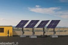 H0 Decode Set Photovoltaic Plant, Model World Kit 1:87, Kibri 38512