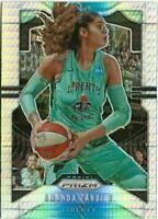K1) 2020 Panini Prizm WNBA Amanda Zahui B Hyper Wave Prizm SP New York Liberty