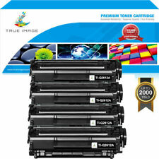 4 PACK Toner Compatible for HP 12A Q2612A LaserJet 1012 1010 1018 1020 3030 3020