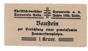 Aus056 Österreich, Tulln Baustein 1 Kr