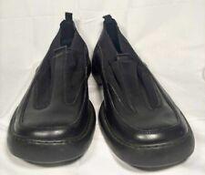 Kenneth Cole Reaction Vintage Mens Leather Loafers Shoes Black Slip-On 12