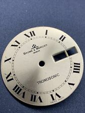 1970s Baume Mercier Tronosonic Tunning Fork Dial And Hands