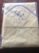 Hooded Yellow Baby Towel   Brand New in Pack