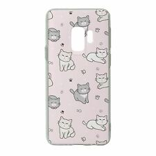 For Samsung Galaxy S9 Silicone Case Cute Cat Pattern - S5213