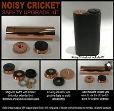 1 - Genuine Brand New FDV Fat Daddy Noisy Cricket Safety Upgrade Kit with Tube