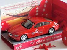 BMW 6er Coupe Spielwarenmesse 2004 Sondermodell 21. HERPA IAA Werbemodell 1:87