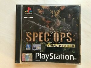 Spec Ops Stealth Patrol PS1 Game UK PAL USED