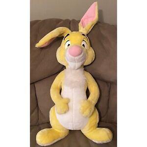"Disney Arcotoys Mattel Pooh Hundred Acres Woods Friend Jumbo Rabbit Plush 32"""