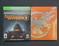 Tom Clancys The Division 2 Collectors Edition Orange Steelbook For Xbox One