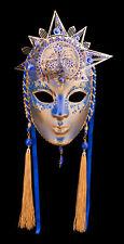 Masque de Venise Lune et Soleil en papier maché et métal-Ht de Gamme- 2139 -GAR9