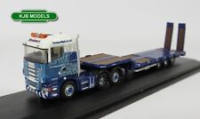 Oxford Diecast NSHL01ST SCANIA Highline Nooteboom 3 Axle Semi Low Loader