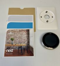 Nest  (3rd Generation) Learning Silver Programmable Thermostat