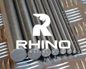 NEW Bright Steel Mild Round Bar 230M07/EN1A - 3mm to 60mm - 50 to 1500mm long