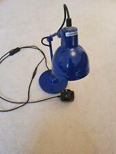Small Blue Desk Lamp