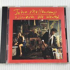 John Mellencamp Whenever We Wanted CD 1991