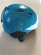Smith Zoom Jr Snow Sports Helmet Y/M 53-58cm Turquoise-Blue