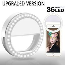 Selfie Ring Light Flash For iPhone Sumsung HTC Phones & Tablets Laptop JOB LOT