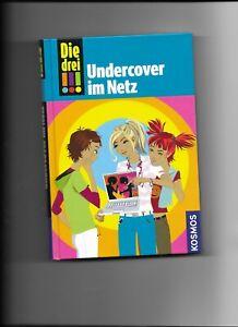 Die drei !!! Ausrufezeichen - Undercover im Netz ; Gebundene Ausgabe