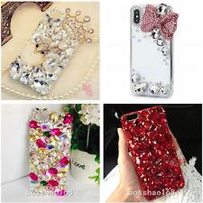 For Samsung S10 S10+ S9+ Luxury Bling Diamonds Rhinestones Jewelled Case Cover