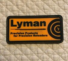NEW Lyman Precision Rubberized Hook & Loop Tactical Patch