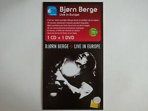 BJORN BERGE ♦ RARE FRENCH PoS ( PLV ) ♦ about LIVE IN EUROPE