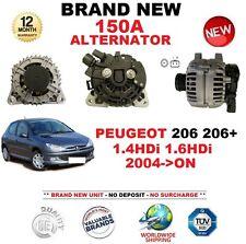 Per PEUGEOT 206 206 + 1.4 1.6 HDI 2004-on NUOVO Alternatore 150A CON FRIZIONE PULEGGIA