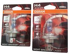 H4 OSRAM NIGHT BREAKER Laser +130 2st. Blister 12 V 60/55w p43t 64193nbl-01b