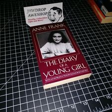 ANN FRANK THE DIARY OF A YOUNG GIRL - BARELY USED BOOK IN EXCELLENT CONDITION