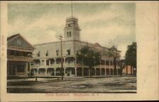 Monticello NY Hotel Rockwell c1910 Postcard